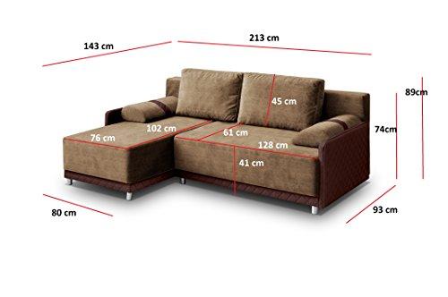 Ecksofa Couch –  günstig mb-moebel  Sofa Eckcouch Couch Bild 2*