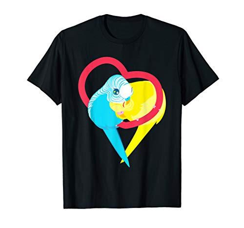 Süße Wellensittiche | Wellensittich Welli Vogel Geschenk T-Shirt