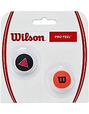 Wilson Unisex PRO FEEL CLASH DEMPERS Tennis, rood, geen maat