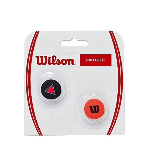 Wilson PRO FEEL CLASH DAMPENERS, NS, Rosso