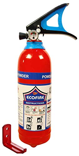 Eco Fire ABC Powder Type 1 Kg Fire Extinguisher (Red)