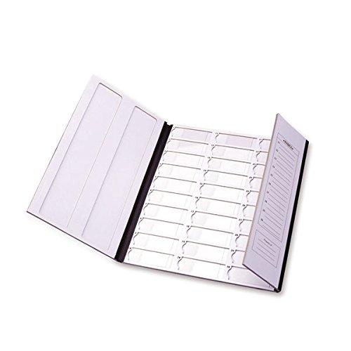 30-Capacity Slide Folder Black only 11'W x 13'H