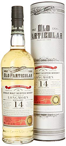 Douglas Laing Longmorn Old Particular Single Cask 14 Years Old mit Geschenkverpackung Whisky (1 x 0.7 l)