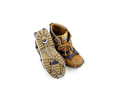 Slidefix Schuhspikes Anti Rutschgefahr. Hilft bei Schnee & Eis. Ideale Lösung im Winter und sorgt für sicheres Laufen, Wandern oder sorgenfreie Spaziergänge im Schnee und auf Eis. Universal Gr. 35-44.