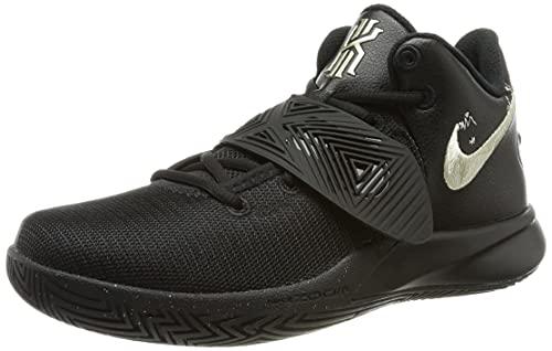 Nike Tênis de basquete masculino para treinamento, Estrela dourada preta 008, 9.5