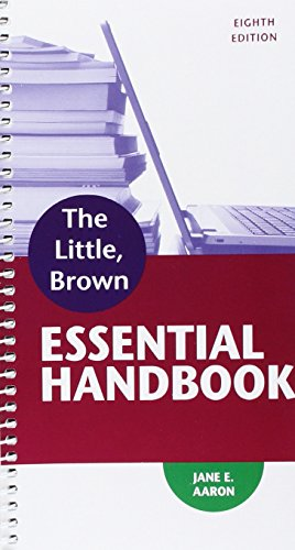 Little, Brown Essential Handbook and Writer -- ValuePack Access Card (8th Edition)