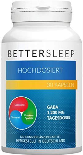 Preisvergleich Produktbild Better Sleep / Das Original / Leichter & schneller einschlafen / Für deine Erholung im Schlaf / 30 Kapseln
