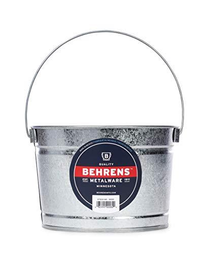 Behrens B325 Galvanized Steel Paint Pail, 2.5 Quart