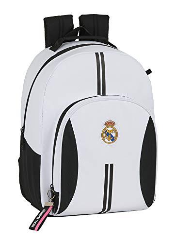 Zaino Safta per la scuola del Real Madrid, adattabile al carrello, 320 x 150 x 420 mm