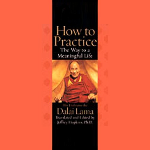 How to Practice     The Way to a Meaningful Life              By:                                                                                                                                 His Holiness the Dalai Lama,                                                                                        Translated,                                                                                        Edited by Jeffrey Hopkins Ph.D.                               Narrated by:                                                                                                                                 Jeffrey Hopkins Ph.D.                      Length: 5 hrs and 20 mins     20 ratings     Overall 3.7