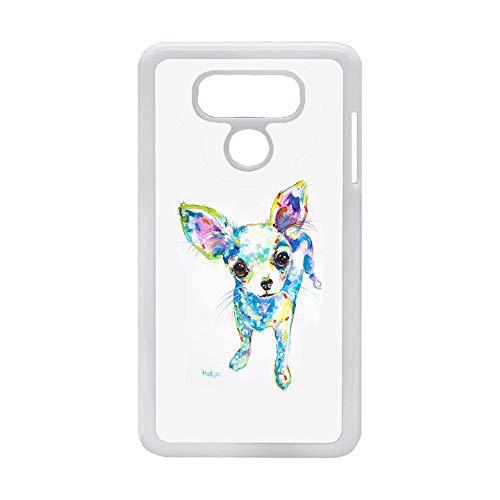 El Único para Chicas Compatible En LG G6 Impresión Chihuahua 6 Caja Dura del Teléfono Abs Choose Design 43-2