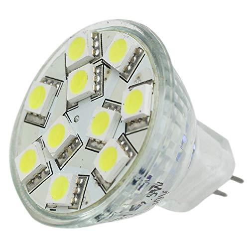 Lunasea Lighting LLB-11TW-61-00 Lunasea MR11 LED Lampe - 10-30VDC-2.2with 140 Lumen - Warm Wei-