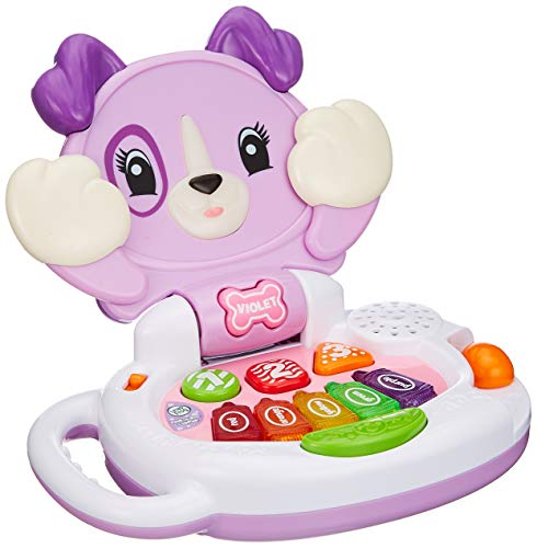 LeapFrog Peek-a-Boo LapPup Baby Toy, Interactive Musical Baby Toy with Sounds, Numbers, Shapes & Colours, Educational Toy for Babies & Toddlers from 6 Months+, 2, 3, 4 Year Olds, Boys & Girls, Purple
