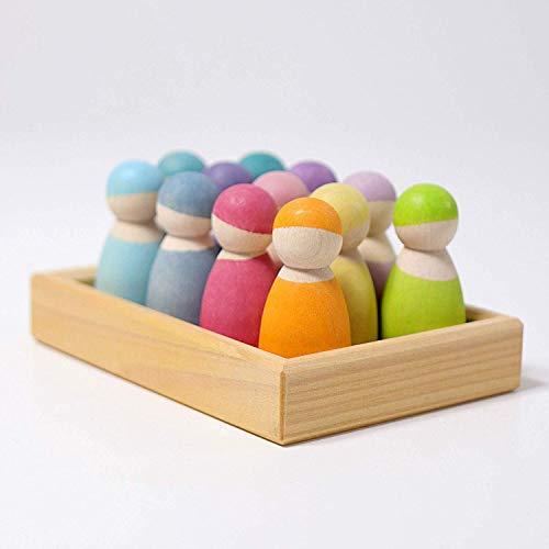 12 Amis pastel, Grimm's