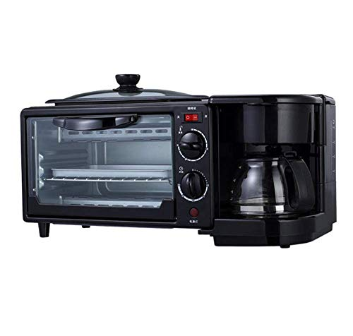 Máquina de desayuno Tres en uno 9L Sandwich Inicio Multi-Función Tostada Café Tetera Gran Capacidad Temporización Control de Temperatura zhuang94