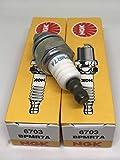 NGK (6703) BPMR7A Spark Plugs Individual...