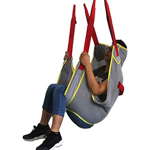 WLKQ Patientenlifter Sling Stiege, Patient Lift Treppe Board, Lagergewicht 507 Lb, Gehgeschirr Für Patienten Ganzkörpergurt Für Patientenlifter Ausrüstung Transfergurt Für Senioren, Behinderte