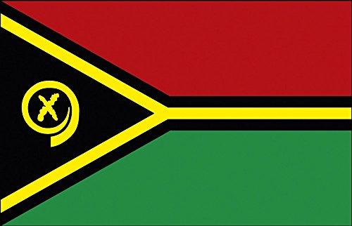 Dekofahne - Vanuatu - Gr. ca. 150 x 90 cm - 80182 - Deko-Länderflagge