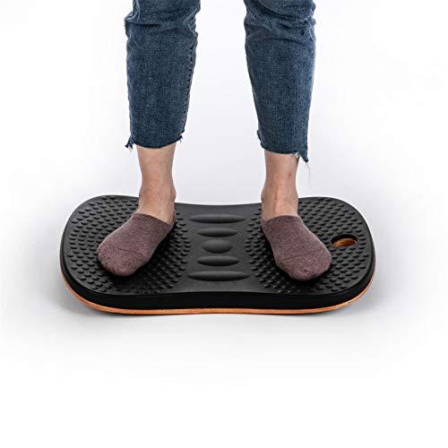 Tabla de Equilibrio de Fitness Fitness Banco de equilibrio Cintura Yoga Placa de masaje Gimnasio Cintura Twist Ejercitor Fitness Inicio Inicio Fitness Equipo de entrenamiento Fitness Balance Board par