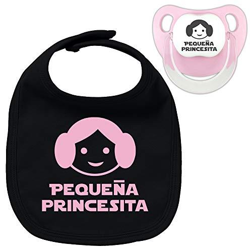 Pack chupete y babero Pequeña princesita