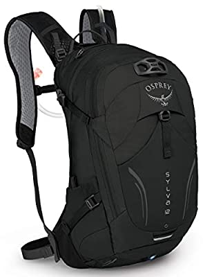 Osprey Sylva 12 Women's Bike Hydration Backpack, Black