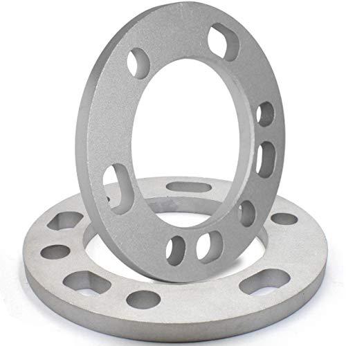 "Wheel Accessories Parts Set of 2 Wheel Spacers 12mm (1/2"") Thickness Fit 5 x 135mm, 5 x 139.70mm (5 x 5.50), 6 x 135mm, 6 x 139.7mm (6 x 5.50)"