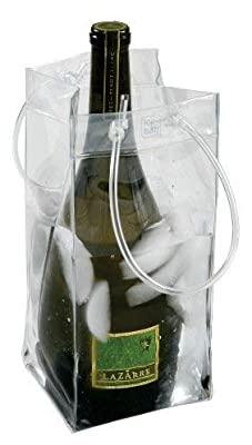 The Chiller Wine Bottle & Ice Carrier Bag, Ice Bucket...