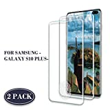 Roclot Galaxy S10 Plus Verre Trempé, [Lot de 2] [Compatible Lecteur d'empreinte] 9H Dureté HD Film Protection écran, Ultra Résistant, sans Bulles d'air, Anti-Rayures, pour Samsung Galaxy S10 Plus