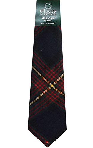 I Luv Ltd Muir Clan 100% Wool Scottish Tartan Tie