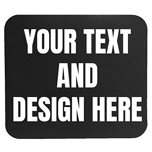 Custom Mouse Pad - Personalized Add Pictures Text Logo Make Your own Customized Mousepad
