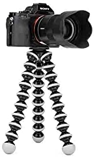 Dronean PLK69 Mini Gorilla Tripod for Camera, DSLR and Smartphones with Universal Mobile Attachment-for Photography, You t...