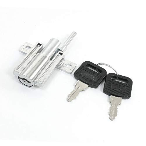 New Lon0167 Rotary Key Featured Locking Sliding Glass reliable efficacy Show Case Door Window Lock(id:626 98 c8 26c)