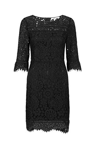Steps Damen Maddison Dress Schwarz, 038