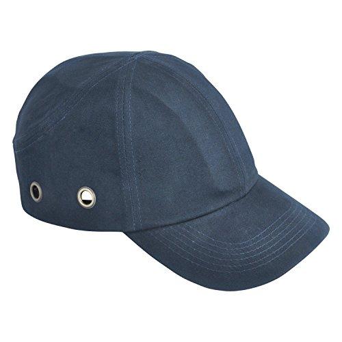 Viwanda Classic Anstoßkappe/Schutzkappe/Sicherheitskappe mit ABS-Schale, dunkel Blau, Marineblau