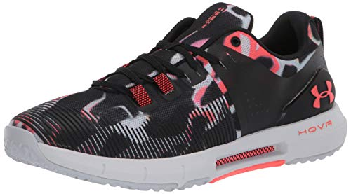 Under Armour Damen HOVR Rise Printed Cross Trainer, Schwarz (Schwarz (001)/Lippenstift), 36.5 EU