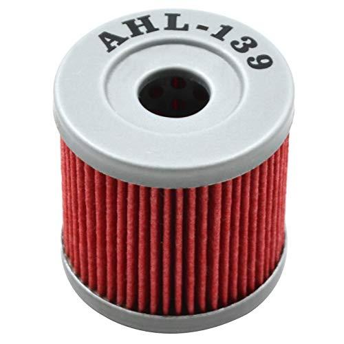 AHL- Motocicleta Filtro de Aceite Oil Filter para LTZ400 QUADSPORT Z 398 2005-2009