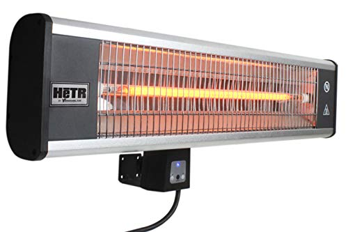 Maxx Air HeTR Outdoor Rated Ceiling or Wall Mount Infrared Heater with Remote, 1500 Watts