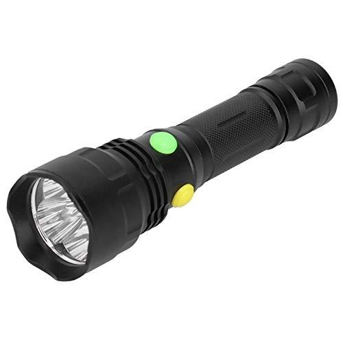 Aoutecen Lámpara de Camping 4 Botones Interruptor Linterna Pesca y Actividades al Aire Libre