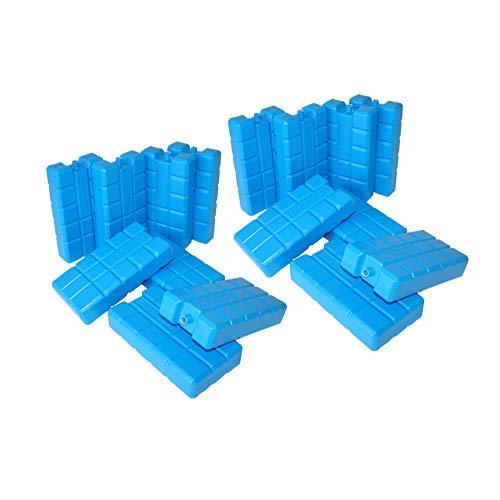 ToCi 16er Set Kühlakku mit je 400 ml |16 Blaue Kühlelemente für die Kühltasche oder Kühlbox