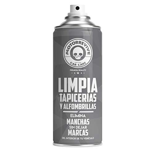 MOTORREVIVE CAR CARE Limpia Tapicerías Coche Profesional, Gris, 400 ml