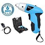 Voroly Rechargeable Cordless Screw Driver Set for Home with LED Light