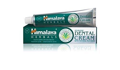Himalaya Herbals Dental Cream Toothpaste 100g, Zahnpasta mit entzündungshemmenden Eigenschaften für den Schutz des Zahnfleisches (3-Pack)