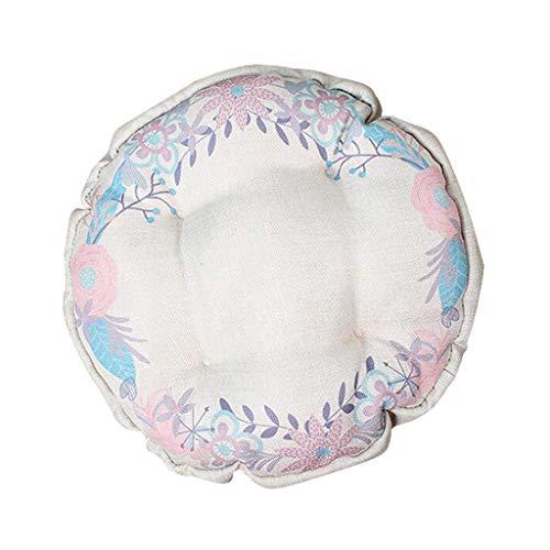 B Blesiya - Protector de Taburete para Silla de 12 a 18 Pulgadas de diámetro, Redondo, Transpirable, cómodo, a Prueba de Suciedad