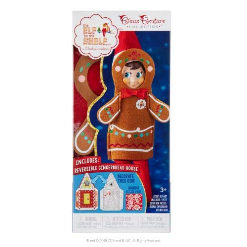 The Elf on the Shelf Claus Couture Jolly Gingerbread Set