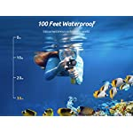 VanTop Moment 4U 4K Action Camera 20MP Underwater Waterproof Camera with EIS, External Microphone, Touch Screen, Slow… 10 Fabulous 4K Action Camera: Featuring professional 4K/30FPS video and 20MP photo resolution, VanTop Moment 4U action camera captures crystal clear and sharp footages for your adventures. The IPS touch screen and humanized operating interface make it easier to set up the camera. Just enjoy the moment for you Hyper-Stable EIS Technology: Built-in advanced Electronic Image Stabilization (EIS) helps to counteract any bump, shake or camera tilt and delivers shake-free, extremely stable and stunning videos. VanTop Moment 4U action camera is built for movements and adventures Waterproof Up to 100FT: You can explore the mysterious submarine world with this underwater camera with its included high quality waterproof case on. It is ideal for water sports such as snorkeling, diving, swimming, surfing, etc. Snap the moments you can't get with your phone with this VanTop Moment 4U