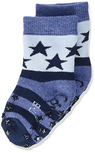 Sterntaler Baby-Mädchen ABS-Krabbelsöckchen Sterne Socks, Marine, 18