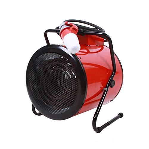 JinDun JD Calentador, el Espacio de Alta Potencia fábrica Calentador soplador de Aire Caliente Tubo de calefacción de Acero Inoxidable Motor de Cobre, 3 Clases de Potencia Opcional (Size : 9000W)