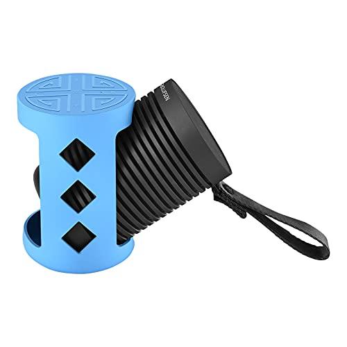 Funda de silicona para Bang&Olufsen Explore Altavoz Bluetooth, Bang & Olufsen Explore Altavoz Bluetooth inalámbrico para exteriores Funda protectora de silicona antideslizante (azul)