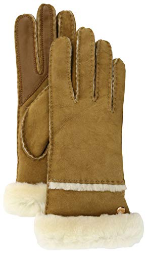 UGG Seamed Tech Handschuh 2020 Chestnut, S