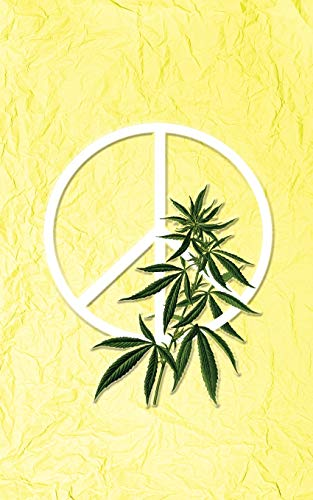 Cannabis Rating Journal - Mellow Yellow: Blank form notebook with discreet cover used for organizing information and rate THC CBD strains of marijuana for either medical or recreational